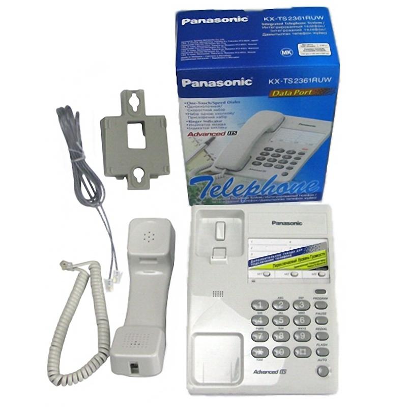 Panasonic Инструкция Проводных Телефонов