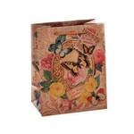 """Подарочный пакет """"Бабочки в цветах+"""""""