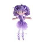 """Мягкая игрушка """"Кукла балерина в пачке, фиолетовая"""""""
